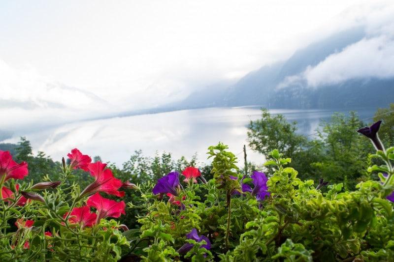 Vue depuis notre Air'b'n'b sur le Lac d'Idro