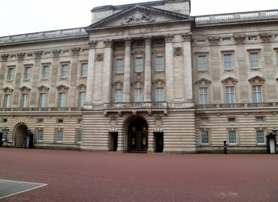Londres-buckingham-palace-entrée