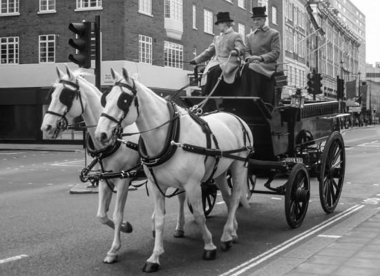 Londres-calèche-vintage