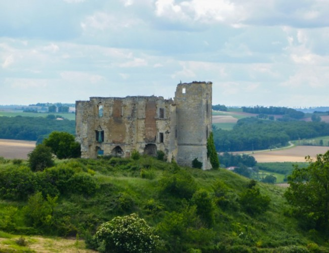 chemin-compostelle-chateau-saint-antoine-ruine-vue-bute