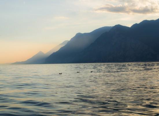 italie-lac-garde-massifs-canards-coucher-soleil