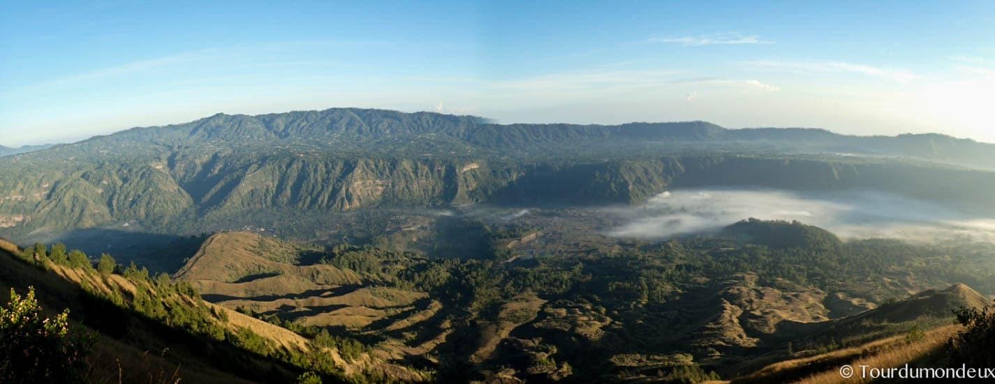 panorama-batur-vue-volcan-bali