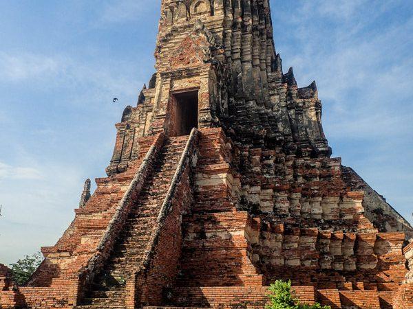 ayuthaya-escalier-temple