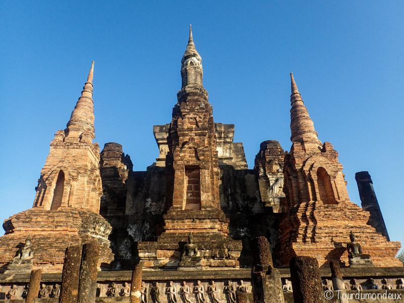 temple-sukhothai-thaïlande