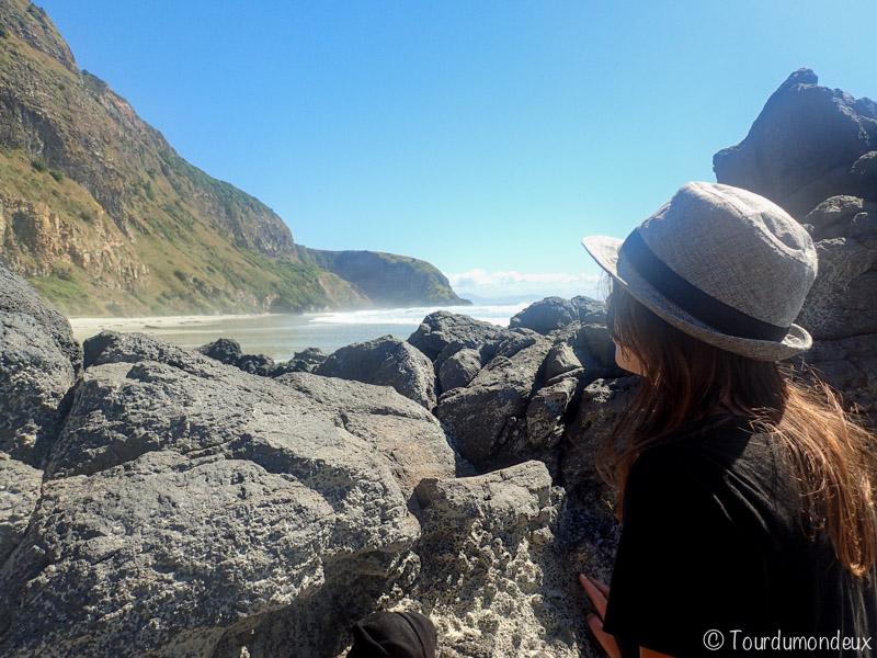 Aramoana-Èemme-Nouvelle-zelande