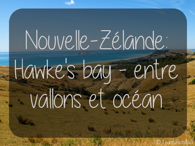 Nouvelle-Zélande: Hawke's Bay – Entre vallons et océan