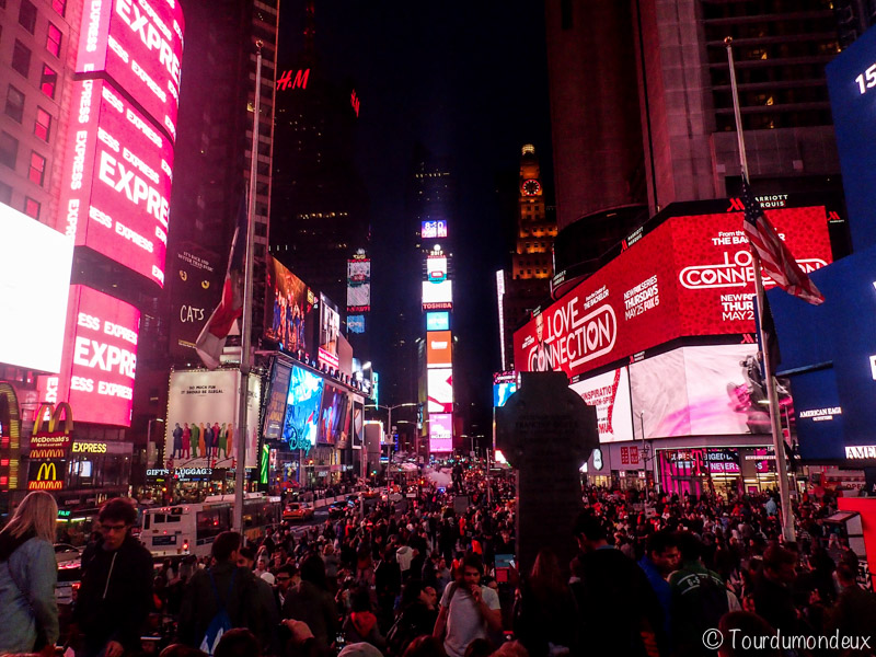 new-york-time-square-vue-usa