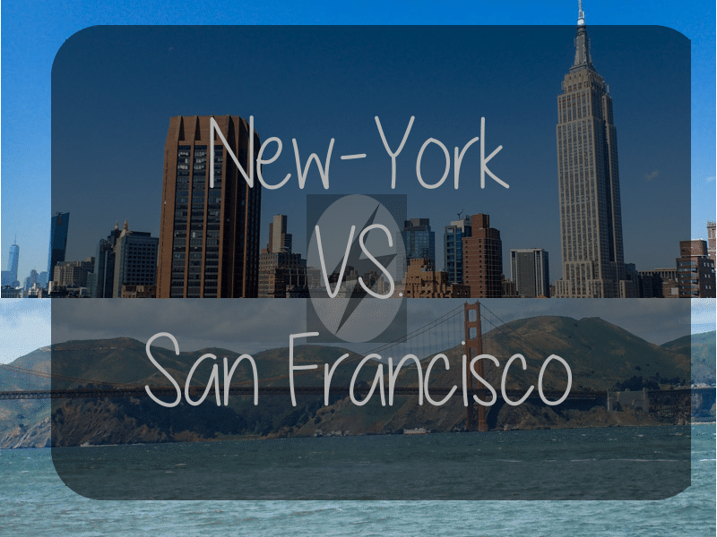New York Versus San Francisco